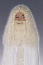 Gandalf Beard And Wig Set (Gandalf Wig and Beard Set Costume Accessory)