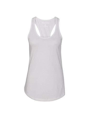 Next Level Apparel Women's Tear-Away Tank Top, White, Medium ()
