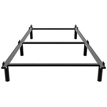 Amazon Com Ziyoo 7 Inch Adjustable Metal Bed Frame Base