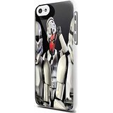 funny deadpool mash up strom star trouper For iPhone 5/5s White Case]()
