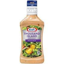 Amazoncom Kraft Thousand Island Dressing 16oz Bottle Pack Of 3