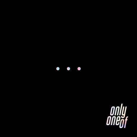 RSVP, 8D Creative OnlyOneOf - dot Point Jump [Black ver.] (1st Mini Album) 1CD+60p Photobook+Lyrics+1Photocard+1Film Card+Folded Poster