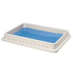 Pan Dissection Pad - Nasco Deluxe Polyethylene Pan with Disecto Flex-Pad - SB15236