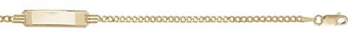 Bracelet chaîne en or 9carats bébé