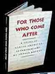 For Those Who Come After: Study of Native American Autobiography