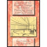 AutoCAD for Interior & Space Planning Using AutoCAD 2000 (00) by Kirkpatrick, Beverly L - Kirkpatrick, James M [Paperback (2000)]