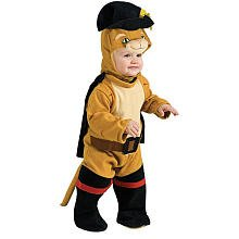 Puss In Boots Costume For Toddlers (Rubie's Shrek Puss in Boots Costume Infant Size 6-12 Months 885024-I)