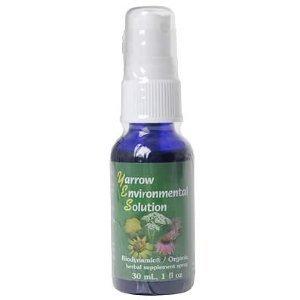 SERVICES essence de fleur, Yarrow Environmental solution de pulvérisation - 1 oz