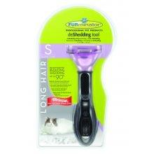 Cepillo para mascotas FURminator, de Spectrum, para gatos pequeños de pelo largo, 1