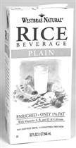 WESTSOY RICEMILK PLAIN, 32 FO (Westsoy Rice Beverage compare prices)