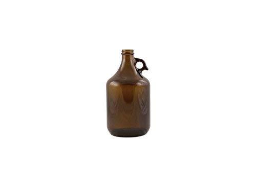 Beer Bottles - 64 oz Amber Trigger Grip Growler - Case of 11 (Case of 11)