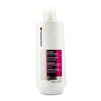 Goldwell Dual Senses Color Extra Rich Fade Stop Shampoo (For Thick to Coarse Color-Treated Hair) ()