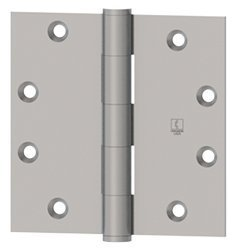 Hager 1279 4.5X4.5 US3 Full Mort Ball Bearing Temp Hinge, Brass, Plastic, 2.3'' x 6.6'' x 2.9'' (Pack of 3)