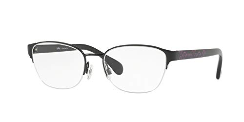 5529c357a2620 Óculos de Grau Kipling KP1108 F290 Preto Lente Tam 52  Amazon.com.br ...