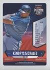 Kendrys Morales (Baseball Card) 2015 Platinum Series Baseball 1st Edition #KEMO