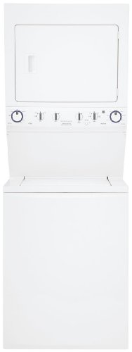 FFLE2022MW Electric Washer/Dryer Laundry Center With Immersion Care Wash Action DrySense Technology Fresh Water Rinse Vibration Control System Quick Wash Energy Saver Option & In