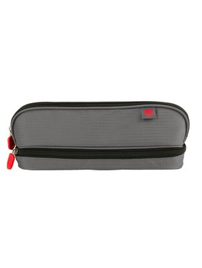 ZUCA Pencil Case (Gray/Red)