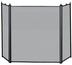 UniFlame 3 Fold Black Screen, Black Finish