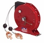Reelcraft G 3050 Y Spring Retractable Grounding Reel, 50', Cable and Y-Clip