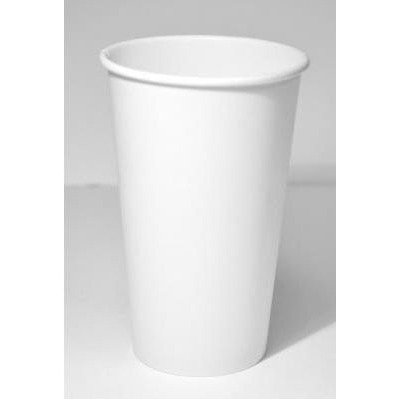 Dopaco 4755 16-Ounce Paper White Hot Cup (Case of 1000)