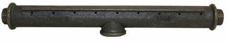 HearthMaster 940 Log Lighter Burner - 16 Oriface (For Starter Gas Burning Pipe Fireplace Wood)