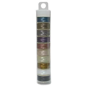 Nymo Beading Thread Bobbin Size D MIX 1 Pack42594 by Beadsmith