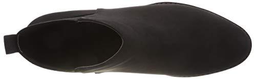 Elastic Back Noir Chelsea Femme 100 Boots Bianco black RT5vqw75