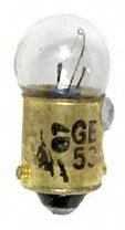 GE Lighting 53 Automotive Instrument Light Miniature Bulb (25550) 10 Lamps per -
