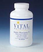 Жизненно важных питательных веществ Multi-питательные вещества не V не бор, медь или железо 120 капсул