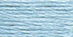 827 Home Light (DMC 115 5-827 Pearl Cotton Thread, Very Light Blue, Size 5)