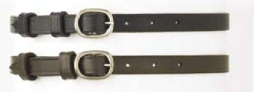 Camelot Ladies Spur Straps,Black