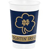 96 NCAA Notre Dame Fightin' Irish Plastic Drinking Tailgate Party Cups - 20 (Ncaa Drinking Cups)