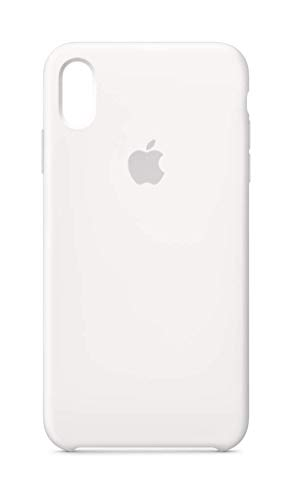 Apple Silicone Case (for iPhone Xs Max) - White