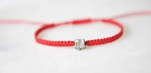 - Raw Pyrite Friendship Bracelet