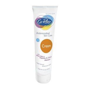 Ca-Rezz Non-greasy Antibacterial Skin Care Cream with Aloe Vera, Allantoin and Vitamins A,D & E - 9.7 Oz Tube by Ca-Rezz