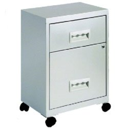 2 Drawer Mobile File Cabinet OD