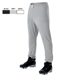 Elastic Waist Baseball Pant - Youth (EA)