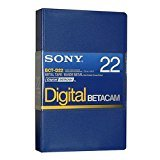 Sony BCT-D22 Digital Betacam 22 minute Tape (10 Pack)