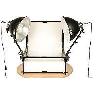 - Smith Victor TST-F2 2- Light Fluorescent 700 watt (Tungsten Equivalent) Shooting Table Kit