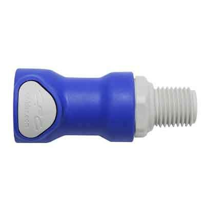 Battery Watering Technologies Threaded Female Connector Blue 1//4