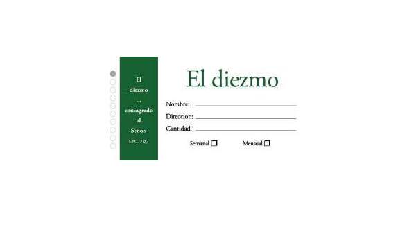 Amazon.com : Sobres Diezmos [2 Boxes of 100 Ct / 2 Cajas De 100 Ct] : Everything Else