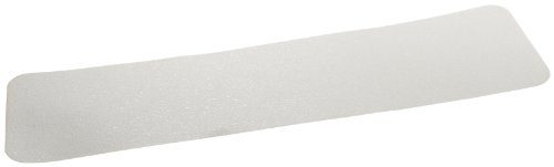 Jessup Safety Track 3530 Resilient Non-Slip Safety Tread (Clear, 6-Inch x -24-Inch Treads, Pack of 50) by Jessup Manufacturing Company (Image #1)