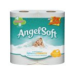 Angel Bathroom Tissue Unscented 4 ROL