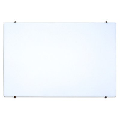 Magnetic Wall Mounted Glass Board (48 in. W x 34 in. H)
