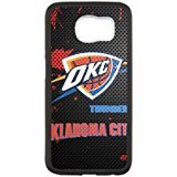 Oklahoma City Thunder 1 Custom Phone Case Design for Samsung Galaxy S6 covers with Balck Laser Technology
