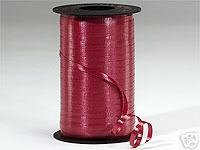 Curling Ribbon BURGUNDY 1500 ft Spool GREAT PRICE 500 Yards Long