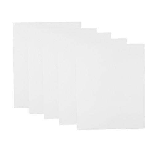 White 20x25x0 for Sheet 5x Scene Baoblaze 1cm Model Plastic Plate Table Sand ABS Flat 5qw7T47