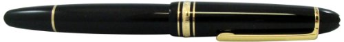 MontBlanc 162  Meisterstuck Le Grand Rollerball Pen, Black (11402) by MONTBLANC