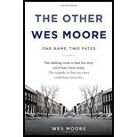 img - for The Other Wes Moore by Moore, Wes. (Spiegel & Grau,2010) [Hardcover] book / textbook / text book