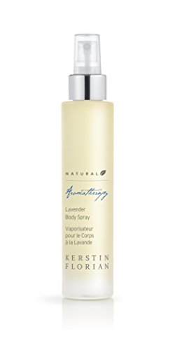 Kerstin Florian Natural Lavender Body Spray, Dry Oil Body Mist Leaves Skin Moisturized and Glowing 100ml/3.4 fl oz ()